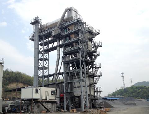 铁拓机械RLBZ-1500/2000沥青再生附楼设备