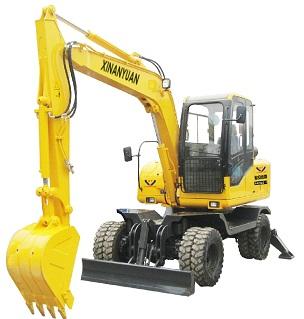 欣安远A4L280W轮式挖掘机