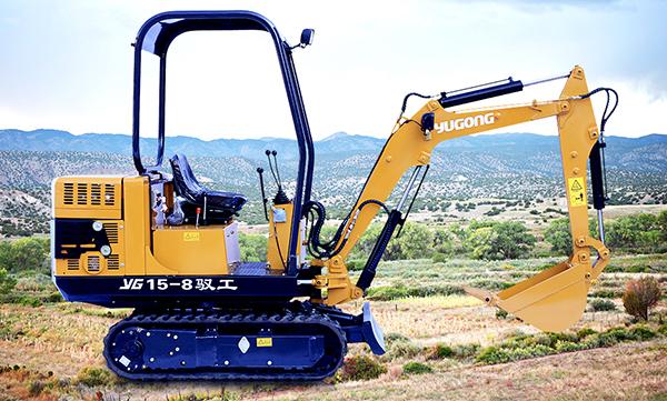 驭工YG15-8履带式小型液压挖掘机