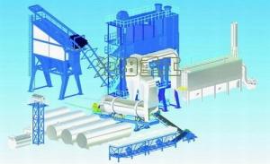 沧田重工LB5000沥青搅拌设备