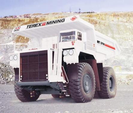 内蒙古北方股份MT3700电传动矿用自卸车