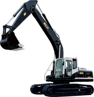 德尔重工DER323-8h挖掘机