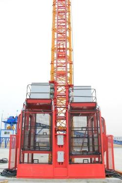 中建機械變頻低速SC200/200施工升降機