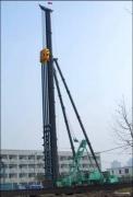 上工机械JBY80A步履式全液压三支点打桩架