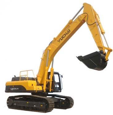 玉柴YC420LC-8液压挖掘机