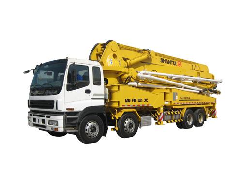 山推HJC5390THB-48米臂架式泵车