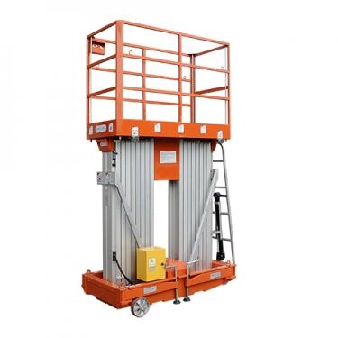 鼎力GTWY10-2000移动桅柱式高空作业平台