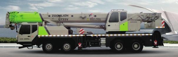 中联重科QY55V汽车起重机