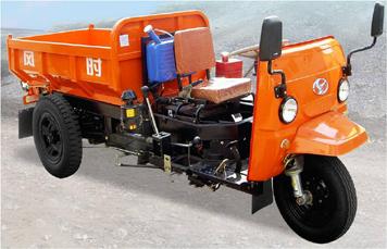 时风中型把式窄轮距矿用车三轮运输车