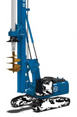 土力机械SR60EVO入岩旋挖钻机
