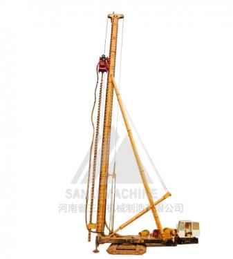 三力机械CFGH35米全液压长螺旋钻机