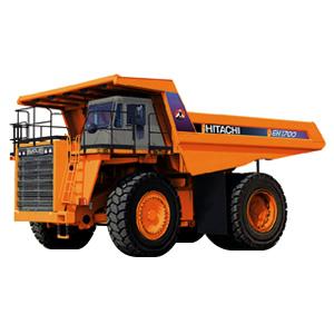 日立EH1700刚性自卸卡车