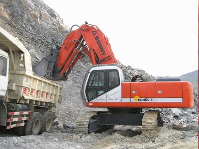 邦立CED460-5正铲电动液压挖掘机