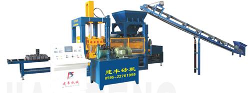 建丰机械QT6-15 全自动砌块成型机砖机