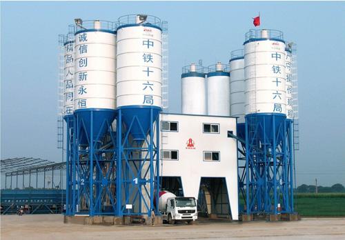 中建机械环保节能混凝土搅拌楼 120m3混凝土搅拌站
