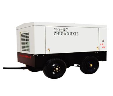 志高DVFY12/7电动移动式空压机