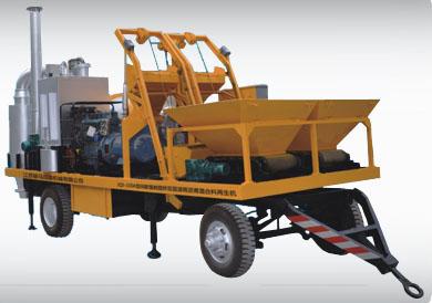 骏马JQS-150A间歇强制搅拌双层滚筒沥青混合料再生机