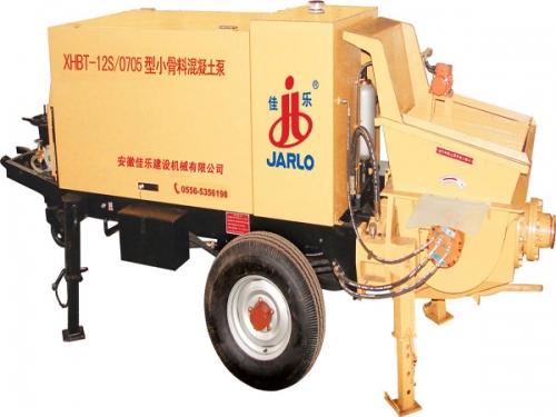 佳乐XHBT-12S/0706型小骨料混凝土泵