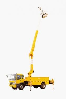 海伦哲XHZ5131JGK庆铃20米绝缘臂高空作业车