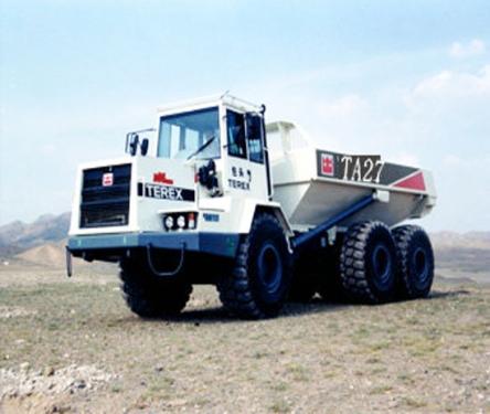 内蒙古北方股份TA27铰接式矿用自卸车
