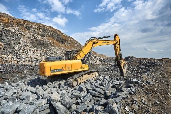 柳工CLG939E挖掘机