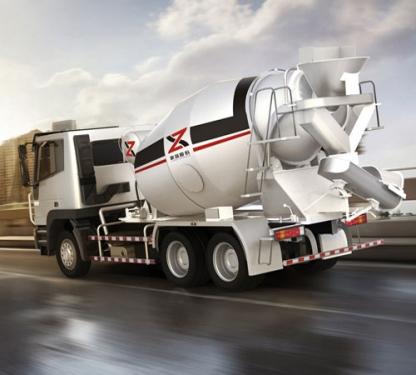 新筑CQ5254GJBHTG384型10方混凝土运输车