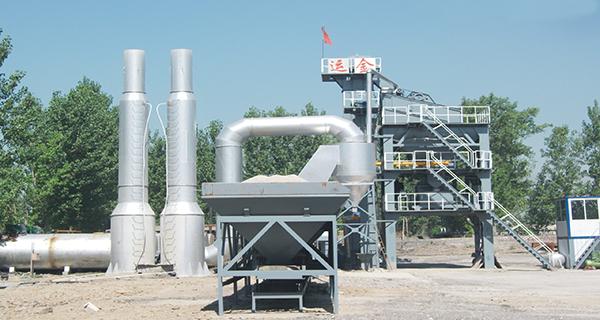 金运LQB700强制式沥青混合料搅拌设备