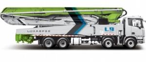 雷萨重机52米泵车