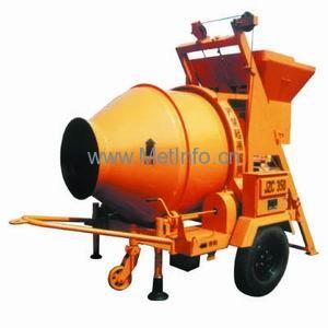 北山JZC350B锥型反转出料混凝土搅拌机