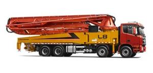 雷萨重机53米泵车