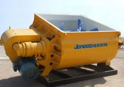 山推建友JS系列双卧轴混凝土搅拌机