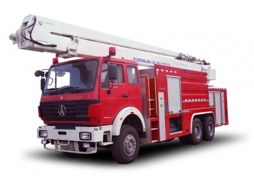 中联重科ZLJ5304JXFJP32型举高喷射消防车