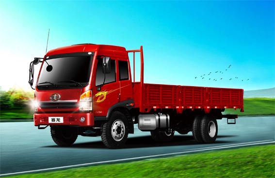 青岛解放赛龙重载型 载货车