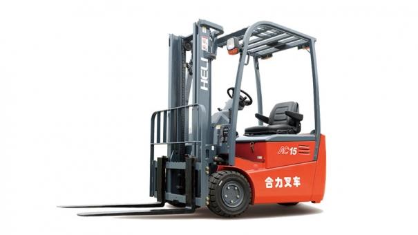 合力三支点 G系列1.25-1.5吨后驱蓄电池平衡重式叉车