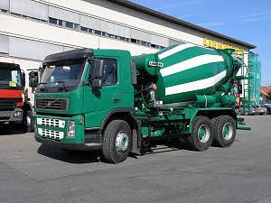 利勃海尔HTM 704搅拌运输车