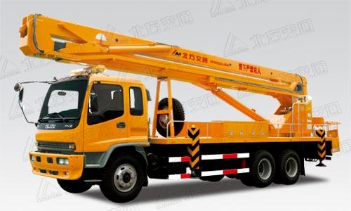 北方交通32 米混合臂式庆铃高空作业车