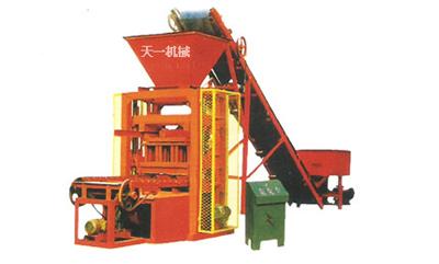 郑州天一QTJ4-26型砌块成型机砖机