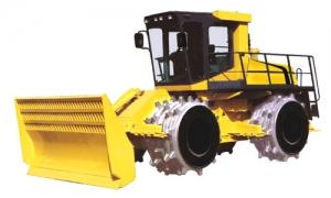 江麓YLK21/YLK23/YLK28/YLK30型全液压四轮静驱压垃圾压实机