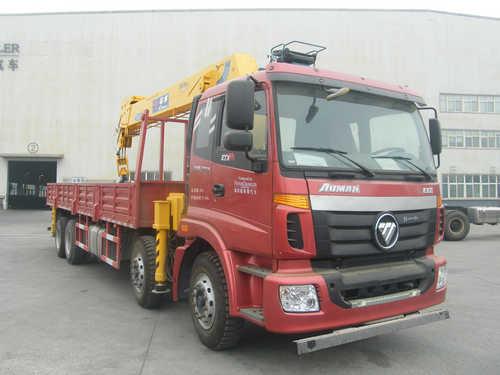 楚飞福田前四后八(14-16吨)随车起重运输车