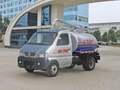 东风CLW4015F吸粪低速货车