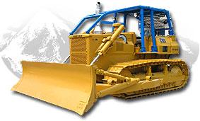 移山TY180液力传动履带式推土机