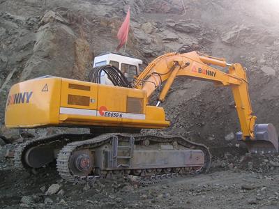 邦立CED650-6反铲电动液压挖掘机