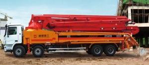 通亚汽车CTY5410THB-52ZX170臂架泵
