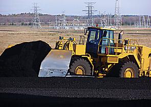 卡特彼勒824H煤铲