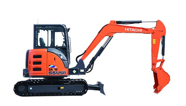 日立ZX55USR-5A挖掘机