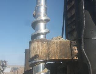 三力机械LGZ30螺杆桩机