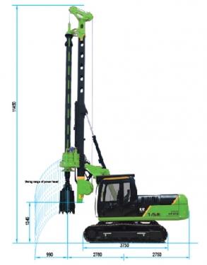泰信机械KR60C旋挖钻机