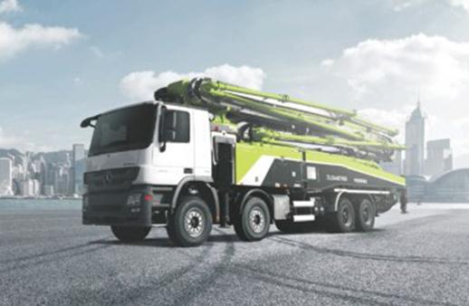 中联重科ZLJ5440THBBE 60X-7RZ复合技术泵车