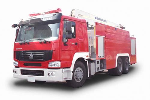 中联重科ZLJ5311JXFJP16型举高喷射消防车