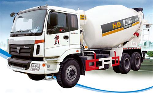 唐鸿重工XT5255GJBBJ41N欧曼系列搅拌运输车